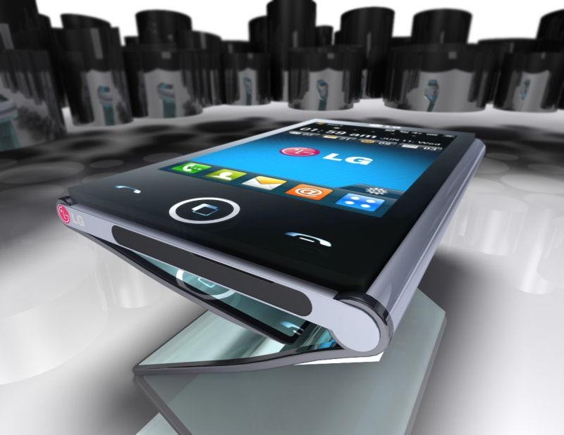 LG Triptych Folding Phone Turns Into a Tablet
