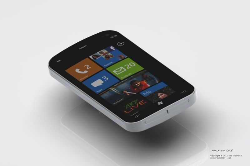 Nokia Microsoft Phone Saga Continues: Nokia EOS Windows Phone 7 Handset