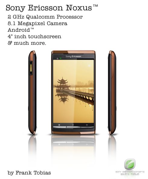 Sony Ericsson Noxus, Very First 2GHz Smartphone?