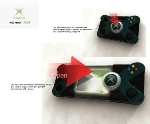 Xbox Mini Concept is a Portable Console That Challenges the Sony NGP