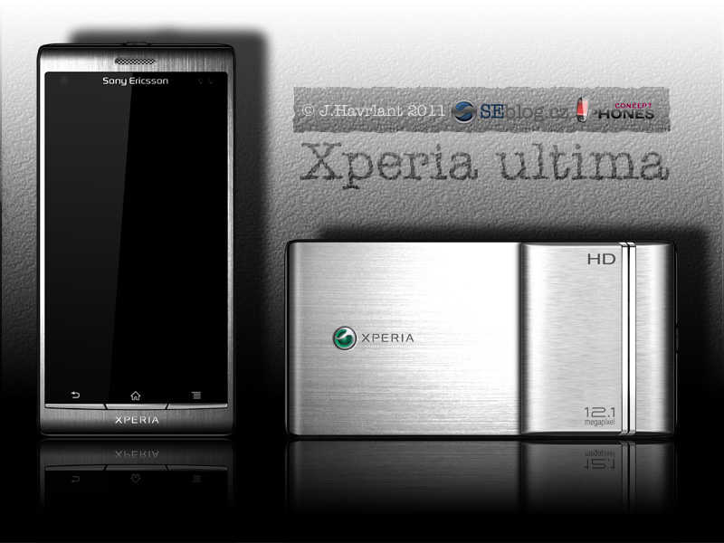 Xperia Ultima is a 12 Megapixel Concept Phone, Created by J. Havrlant
