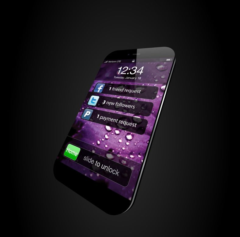 iPhone Nano Mockups Part 6: We Go Thin and Go Purple