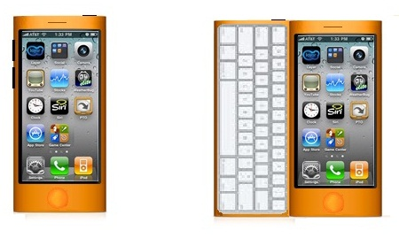 iNano, the Smaller iPhone With Keyboard?