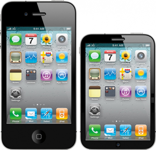 iPhone Nano Mockups Start Popping Up: Part 1