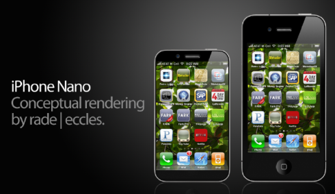 iPhone Nano Mockups Start Popping Up: Part 2