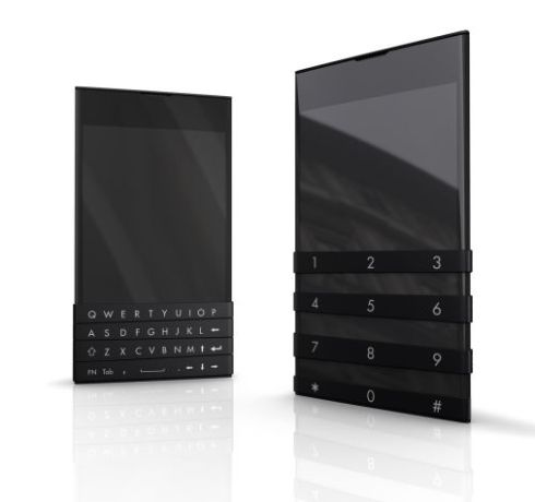 Elastic Phone Uses Customizable Keyboard