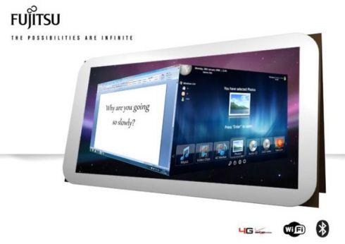 Fujitsu Lifebook 2013 Tablet Packs 3D Sensors, Foldable Leather Case