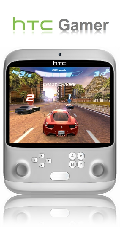 HTC Gamer, a Serious 7 Inch Rival to All Portable Consoles