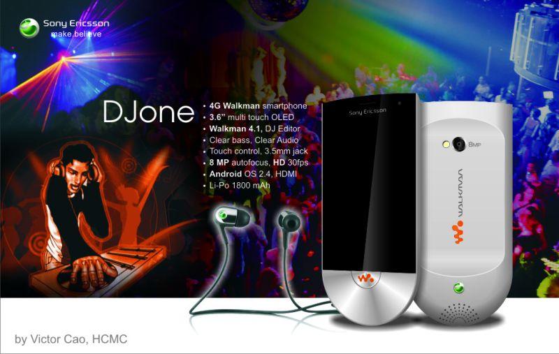 Sony Ericsson DJone   Return of the Walkman Phone