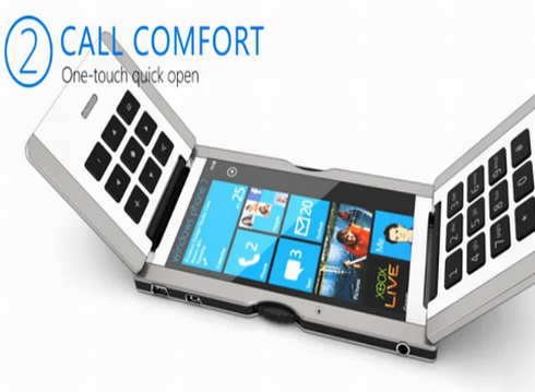 Triple Flip Windows Phone 7 Smartphone Boasts an Original Chassis