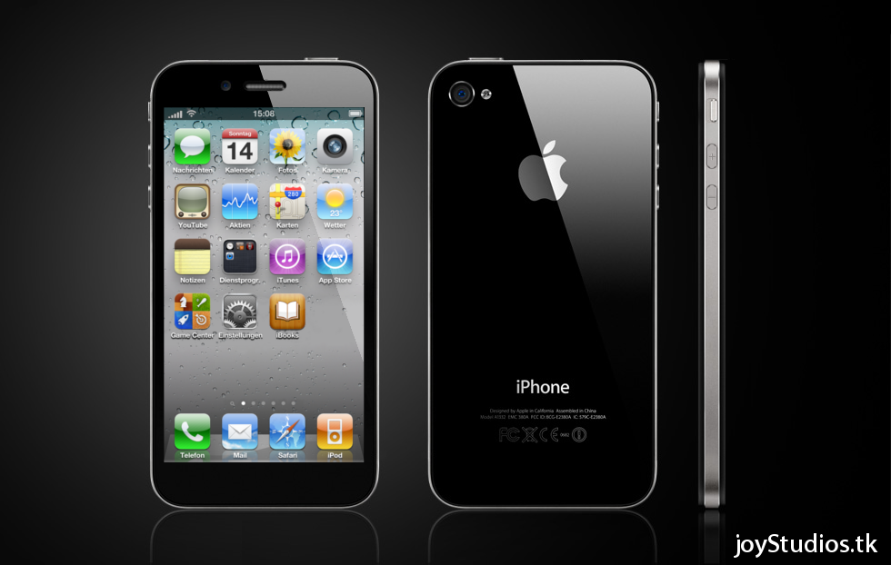 iPhone 5 Concept Runs iOS 5, Supports 4G Connectivity