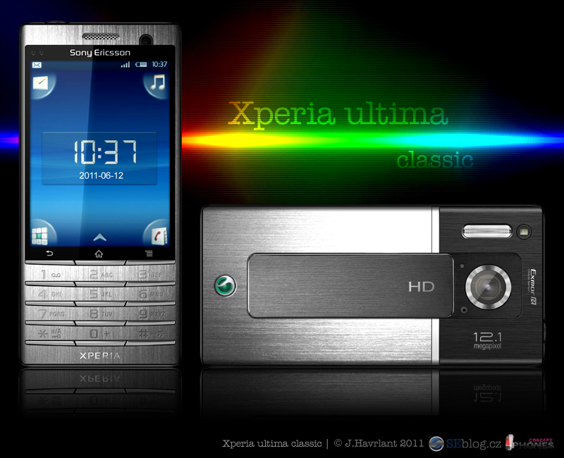 Xperia Ultima Classic: Old Schoold Meets New School