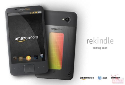 Amazon Blaze Dual Core Smartphone May Be an April Fools Joke, But Its Still a Render!