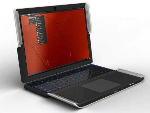 Fujitsu Lifebook X2 Concept Is a Palmtop and a Laptop