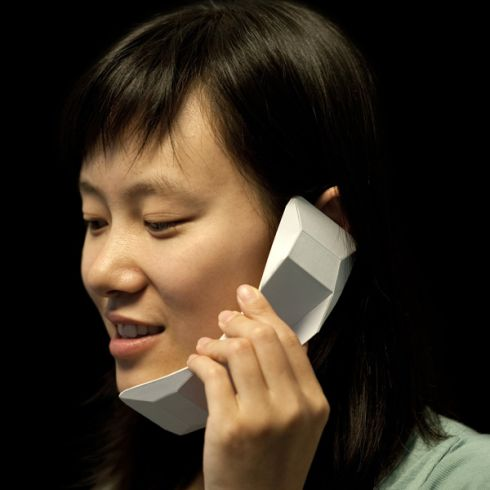 Origami Phone Turns From 2D to 3D In an Instant
