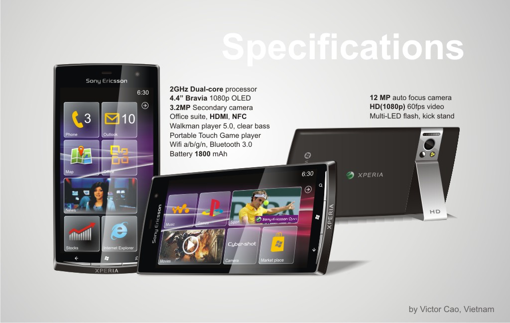Windows Phone 8 Meets Sony Ericsson on Xperia Leon 2GHz Dual Core Smartphone