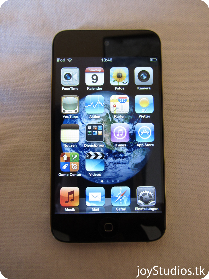 Apple iPod Touch 5 Runs iOS 5, Supports 1080p Video Recording
