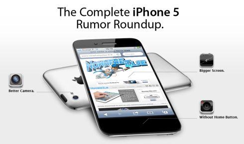 iPhone 5 Mockup and Rumors Roundup