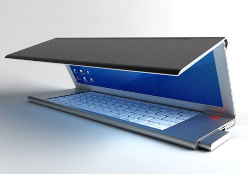 Feno Folding Notebook Flexes the Display Muscle