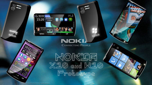 Nokia X10 Symbian Anna/Belle Concept is a Quad Core Phone With 15MP Camera