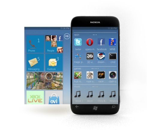 Nokia C9 Concept Runs Windows Phone 7.5, Includes Ovi Store in Metro UI