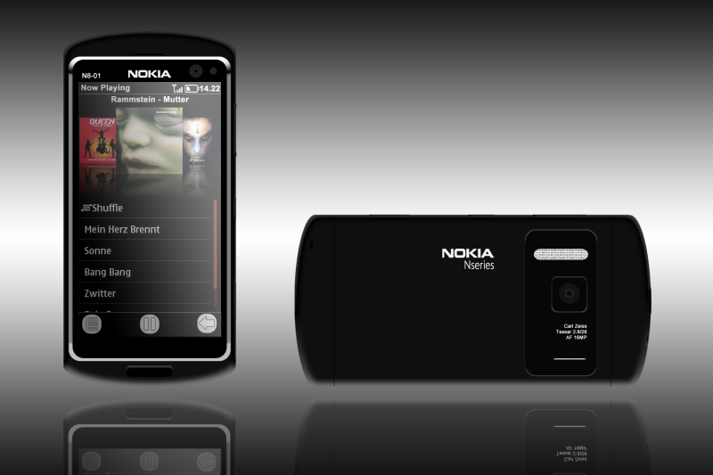 Nokia N8 01 Uses 16MP Camera, Dual core 1.2GHz CPU