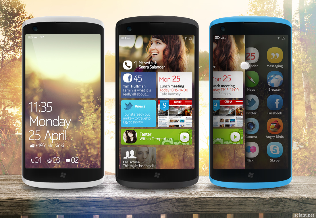 Windows Phone 7 Nokia Concept Brings Symbian Anna Looks, Finnish Design