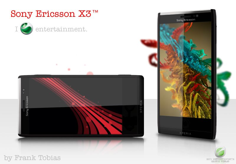 Sony Ericsson X3 Packs 10MP Camera, 2.5GHz Dual Core CPU