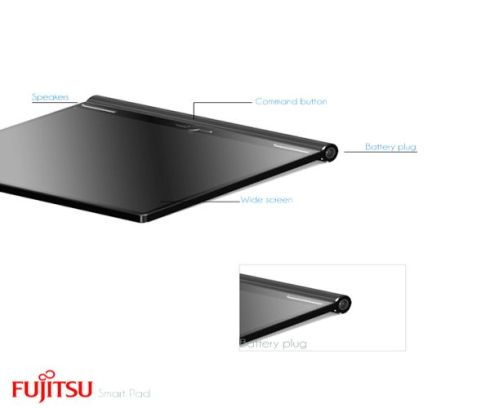 Fujitsu Smart Pad is a Wide and Very Slim Tablet