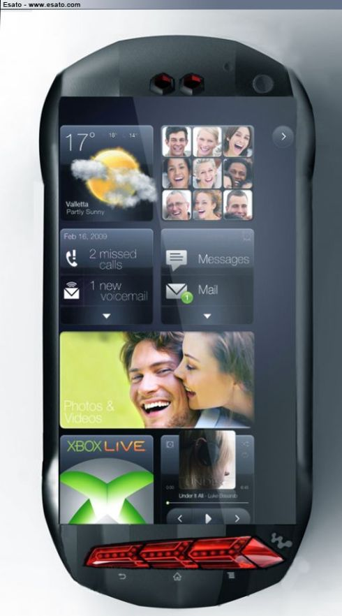 Sony Ericsson Swoop Concept Supports 4G Connectivity, Packs 16MP Camera