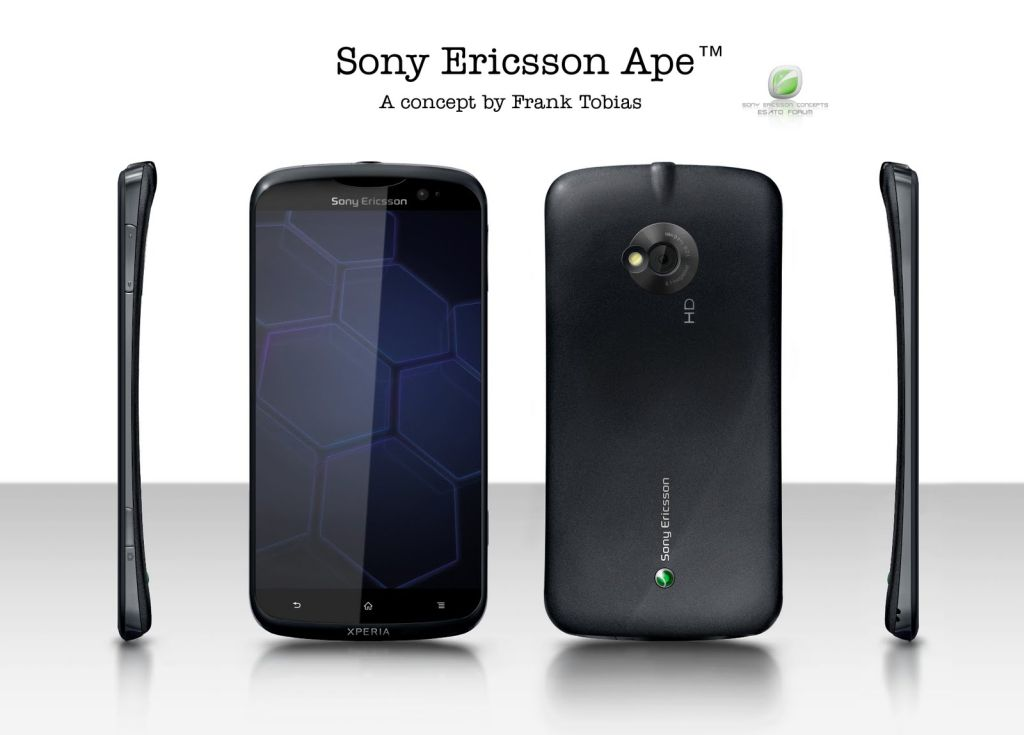 Sony Ericsson Ape, a New Xperia With Android 3.0, Dual Core Processor