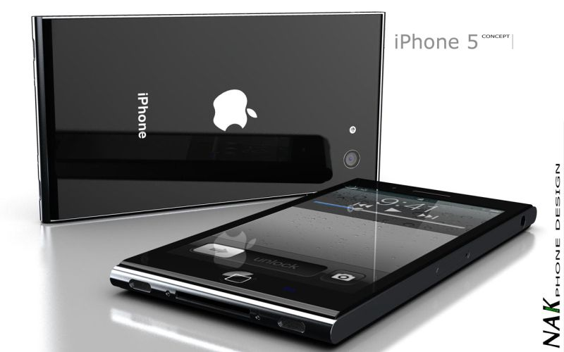 iPhone 5 Fresh Design Features a New LED Notifications Panel