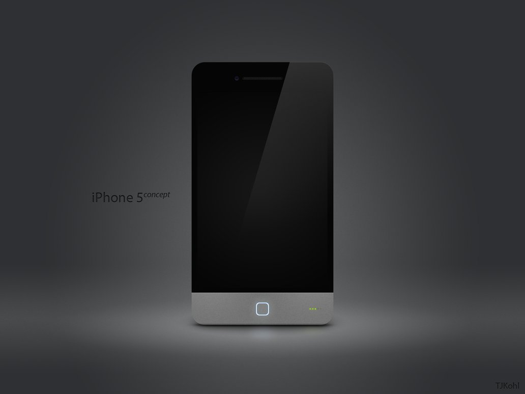 iPhone 5 Concept Made by TJKohl Features LED Notifications