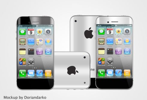 iPhone 5 Mockup by Dorian Darko Might Actually Look Like the Real Thing