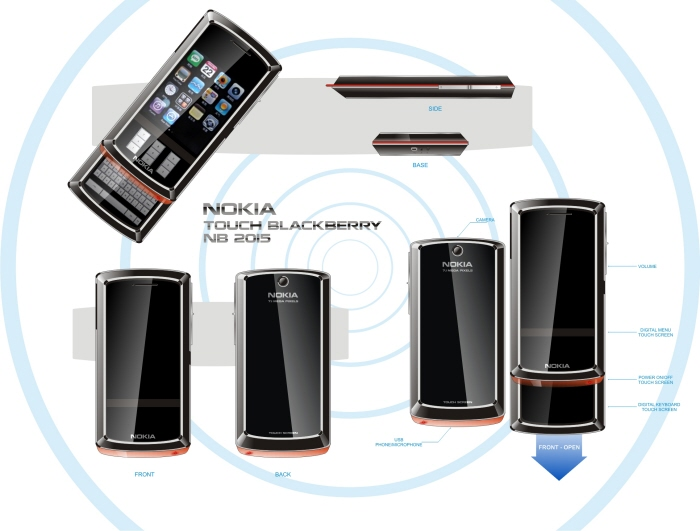 Nokia BlackBerry Concept is 2015 Material