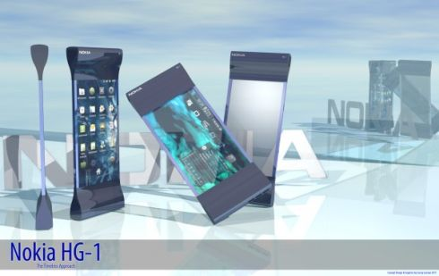 Nokia HG 1 Uses Hourglass Design