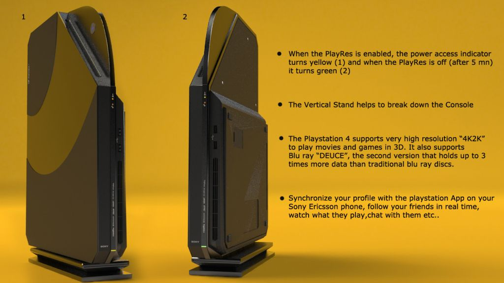 PlayStation 4 Design is Both Eco Friendly and Smart