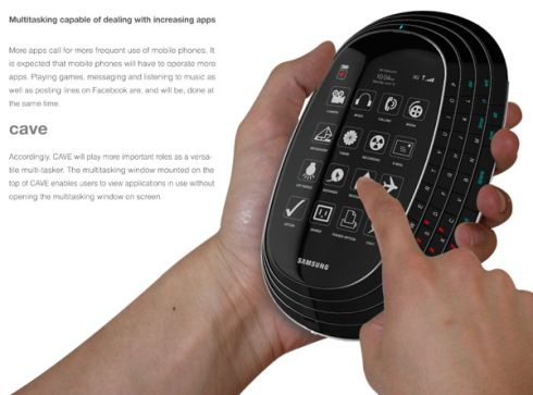 Samsung Cave is the Ideal Texting Phone