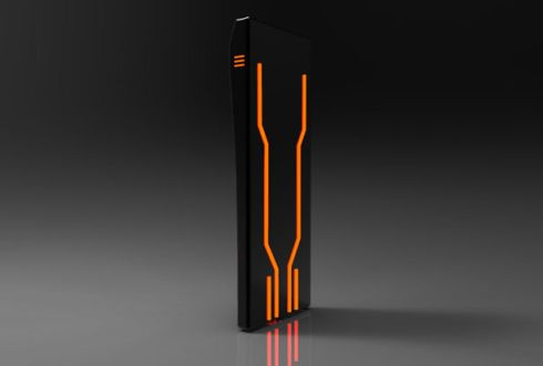Tron Style Phone is All About the LEDs
