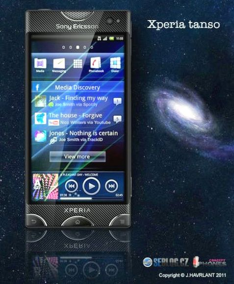Xperia Tanso, Fresh Design by J. Havrlant