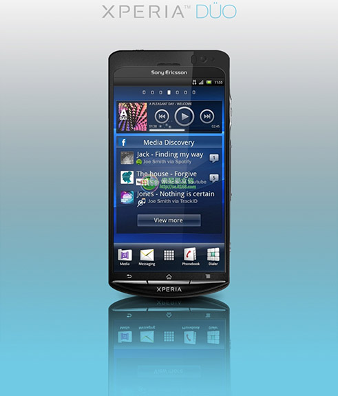 Sony Ericsson Xperia Duo Press Shot Leaks