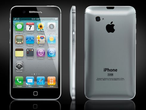 New iPhone 5 Design, Created by Michal Bonikowski