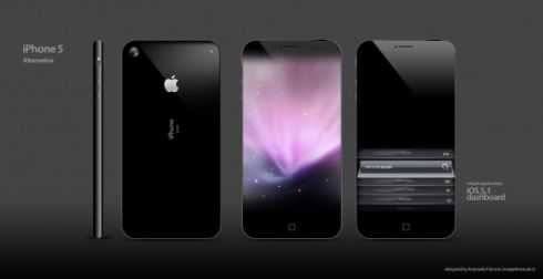 iPhone 5 Gets 4.6 Inch Display, 4.3 Inch Edge to Edge Screen Version Also Created by Antonello Falcone