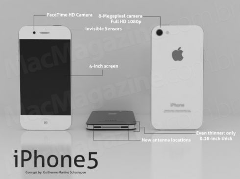 iPhone 5 Mockup by Guilherme Schasiepen is Very Realistic