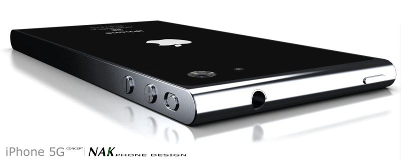 iPhone 5G Design Gets Slight Modifications, Courtesy of Antoine Brieux