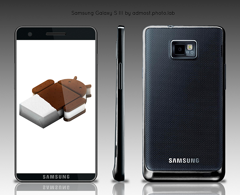 Samsung Galaxy S III Runs Android 4.0 Ice Cream Sandwich, Looks Very Much Like Galaxy S II