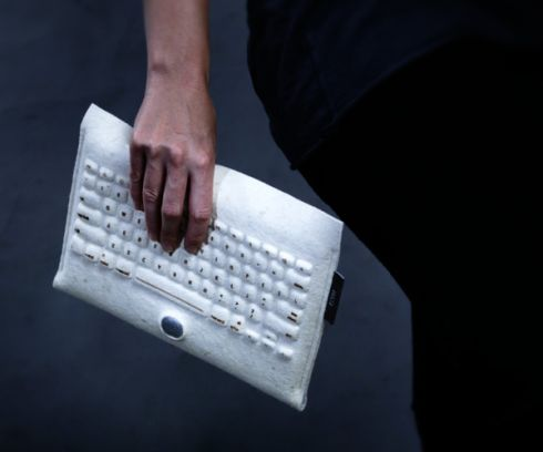 HiLo Tablet Concept Involves a Felt Keyboard That Also Acts as a Pouch