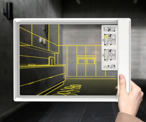 Fujitsu Iris Tablet PC is a Transparent Piece of Wonder