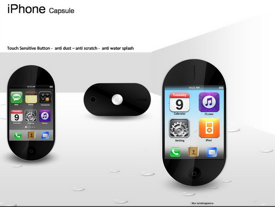 iPhone Capsule, the Mini iPhone With 2.4 Inch AMOLED Display
