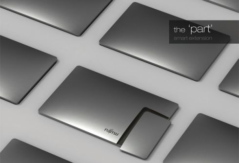 The Part Smartphone Tablet Combo Is Original Fujitsu Design